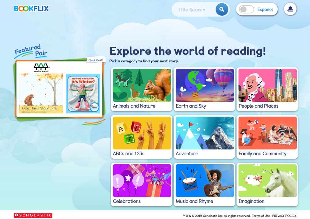 Scholastic's BookFlix | Reference Database Review