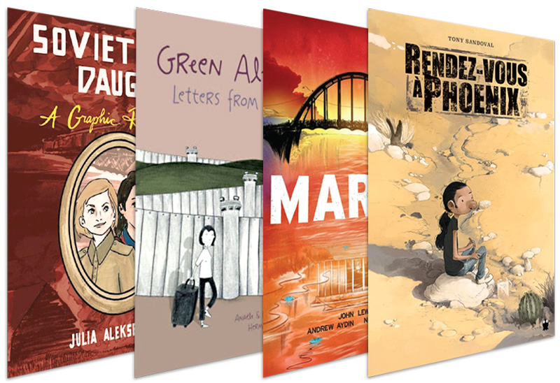 First-Person Graphic Memoirs: 17 Recommended Titles