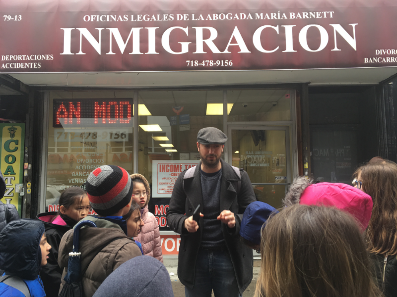 Elementary Book Club Tackles Immigration; Takes Walking Tour To Explore Cultures and Food