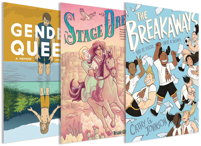 LGBTQIA+ Graphic Novels for Young Readers | Stellar Panels