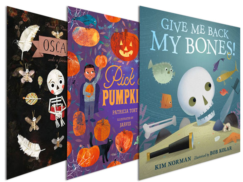 Zombies and Skeletons and Vampires, Oh My! | 10 Picks for Elementary Readers