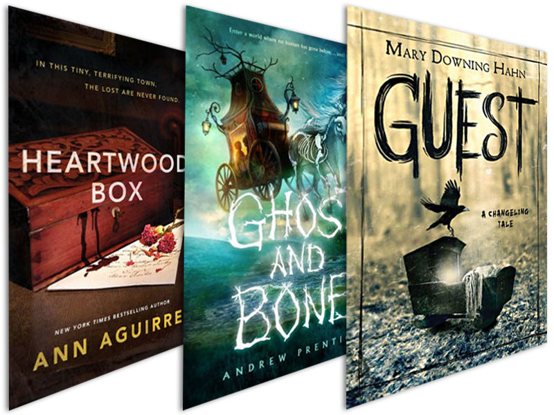 Friendly Haints and Macabre Adventures   | 36 Seasonal Titles for Middle Grade and High School Readers