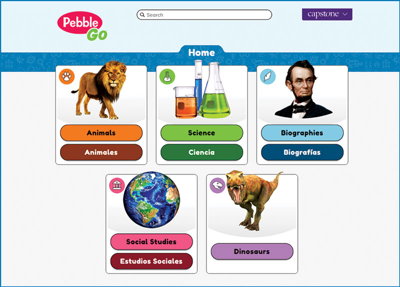 Capstone PebbleGo | Reference Database Review