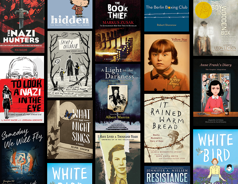 Age-Appropriate Middle Grade and YA Books About the Holocaust