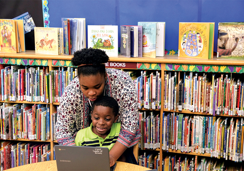 Homeschooling Families Tap into Library Services, from Storytime to Science Equipment