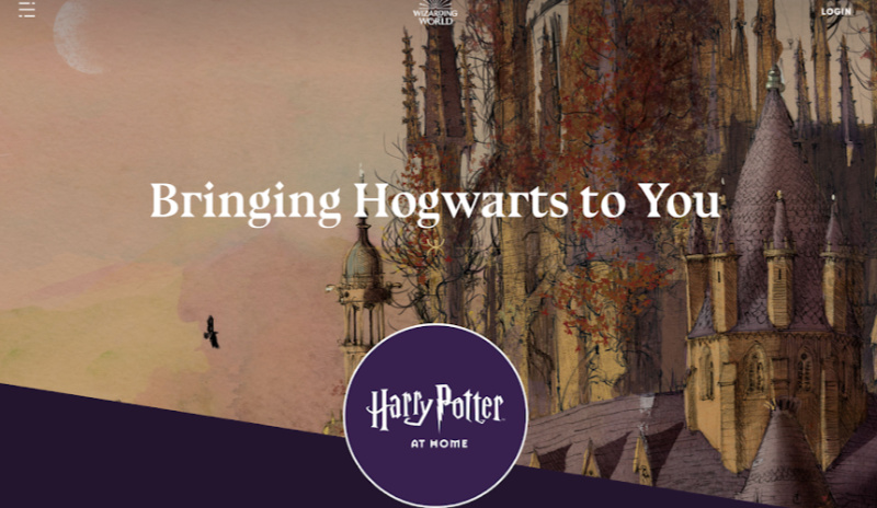 "For Wizards in Confinement, ""Harry Potter at Home"" Offers Activities, a Free Ebook and Audiobook"