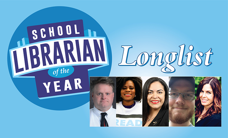 Announcing the 2020 School Librarian of the Year Longlist