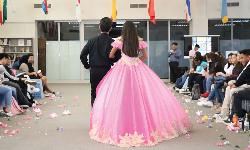 A Prom-Themed Fashion Show Promotes Fun—and Reading | Cicely Lewis