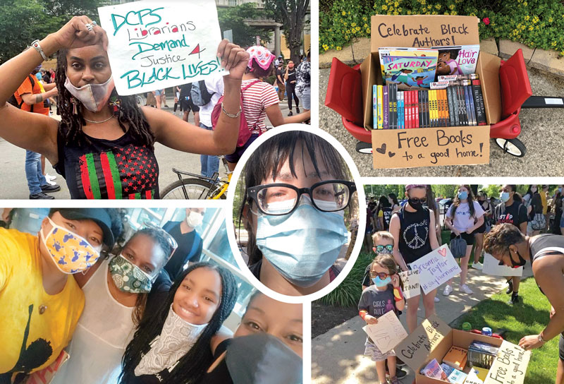 PHOTO ESSAY: Librarians Join Black Lives Matter Protests