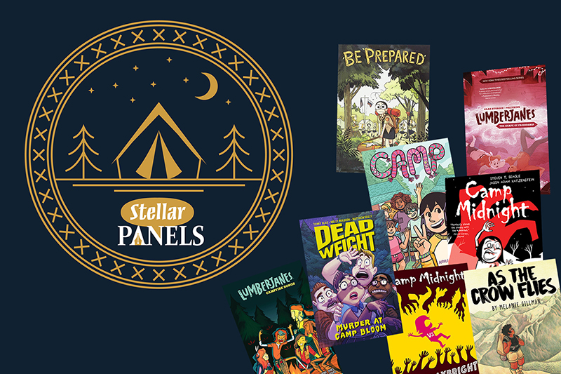 Graphic Novels for Armchair Campers | Stellar Panels