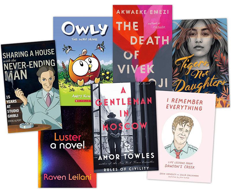 SLJ Book Reviews Editors' Favorite Books Read in 2020
