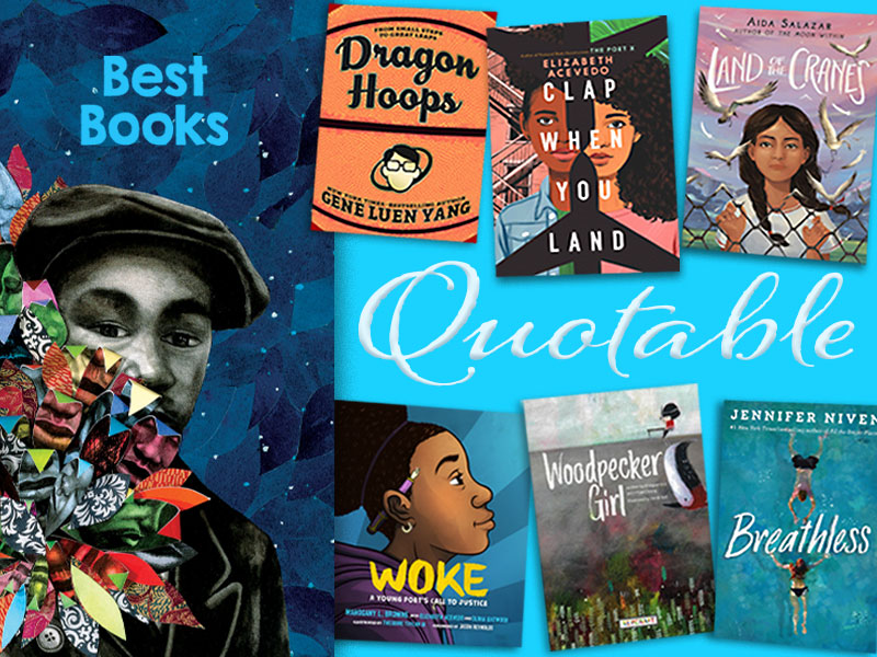 SLJ Book Reviews Editors' Favorite Quotes from 2020 Best Books
