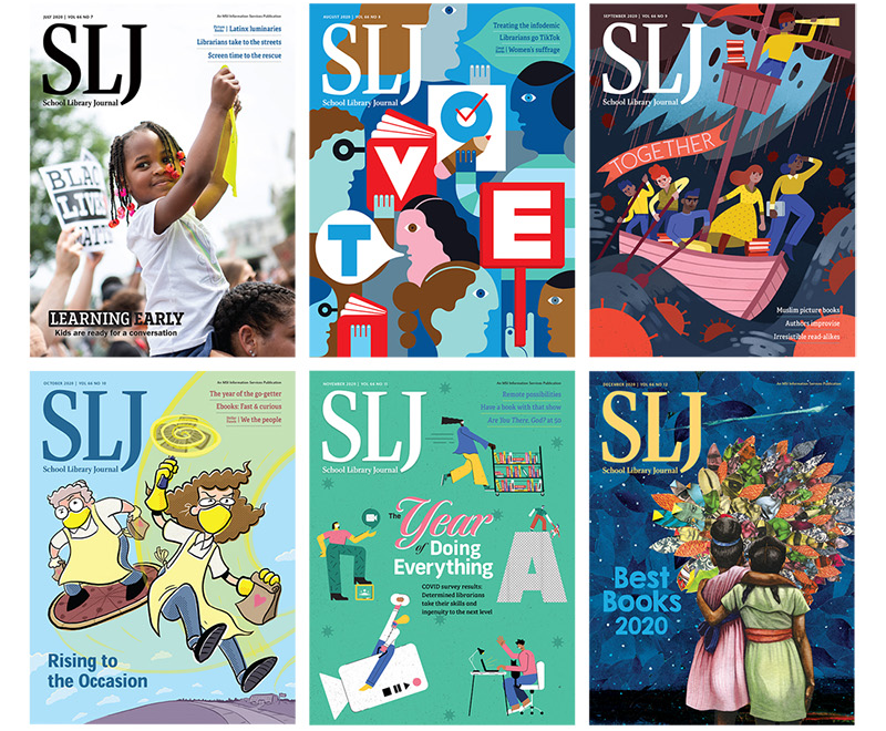 The Year in SLJ Covers 2020