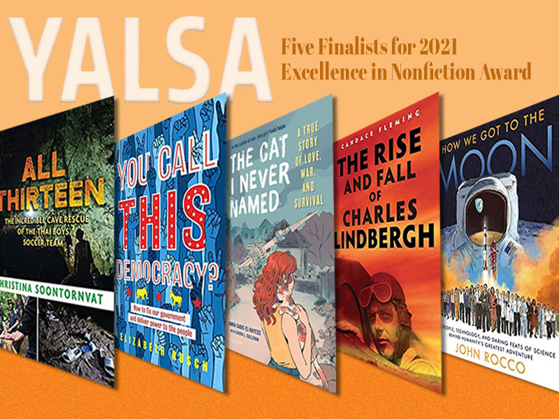 YALSA Names Five Finalists for 2021 Excellence in Nonfiction Award