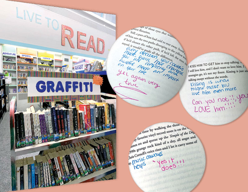 Graffiti Books: From Weeded to Wanted (and Written In!)