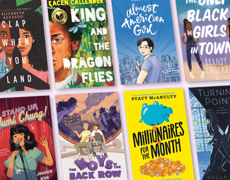 Reading in Between: 13 Diverse Titles for Middle School Readers | Great Books