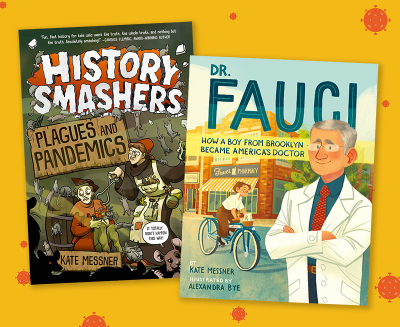 Chronicling COVID: Children's Authors Tackle Pandemic Topics for Kids