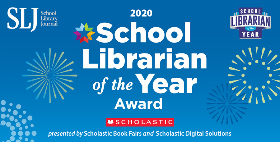 School Librarian of the Year 2020 graphic