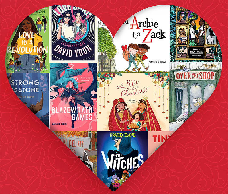 Crushing on Love: 12 Books Featuring Many Kinds of Love for All Ages