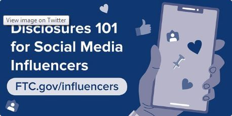 FTC Issues Guidelines to Social Media Influencers for Endorsement Disclosures. This Means You, Too, Educators.