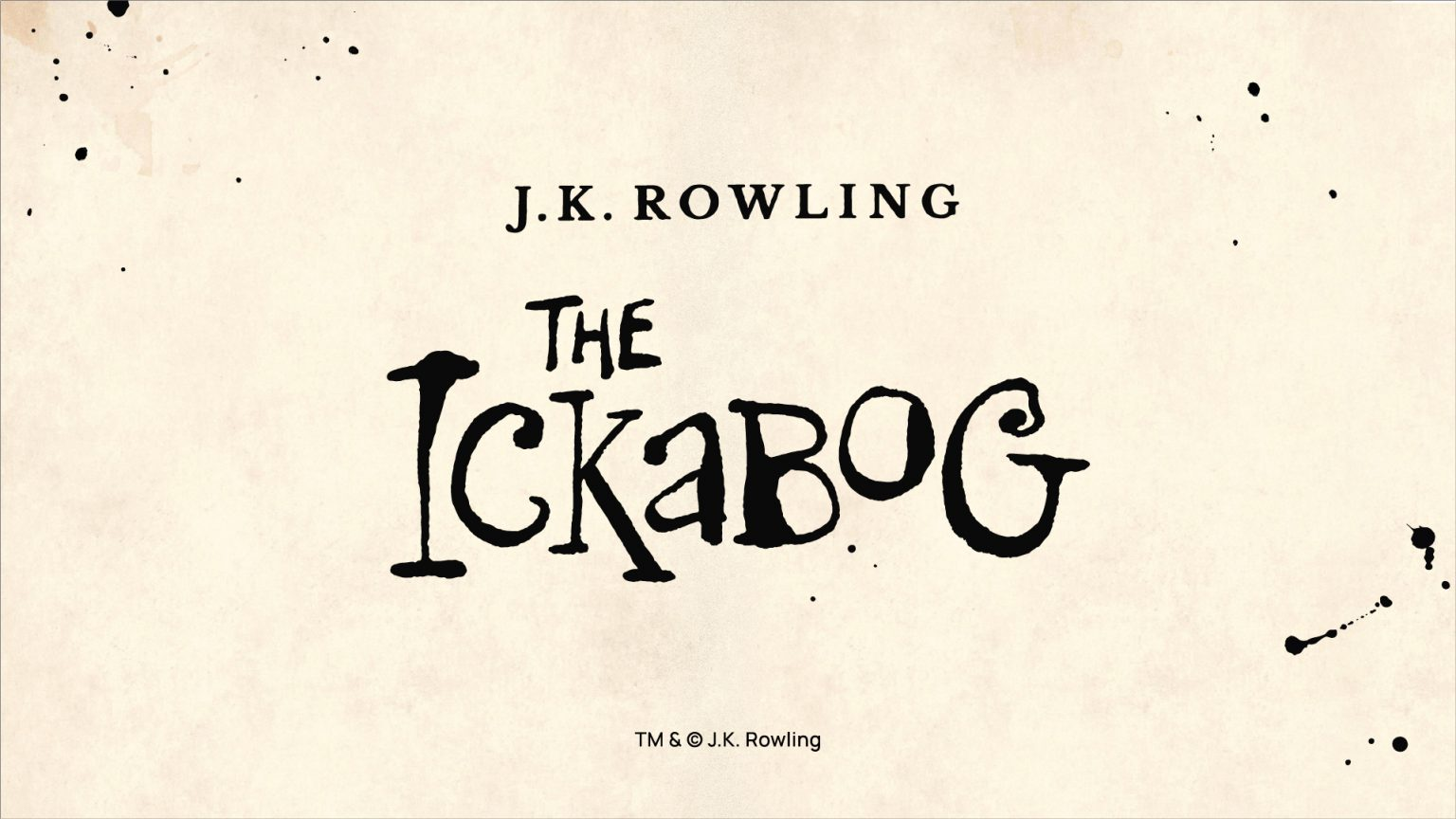 J.K. Rowling Releases New Children's Book Online and Announces Illustration Competition