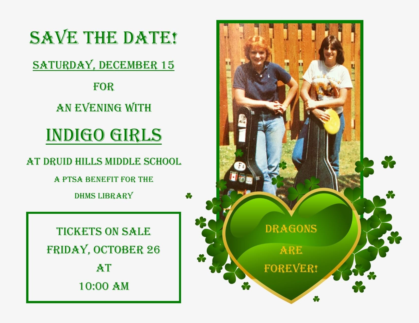 Indigo Girls To Play School Library Fundraiser