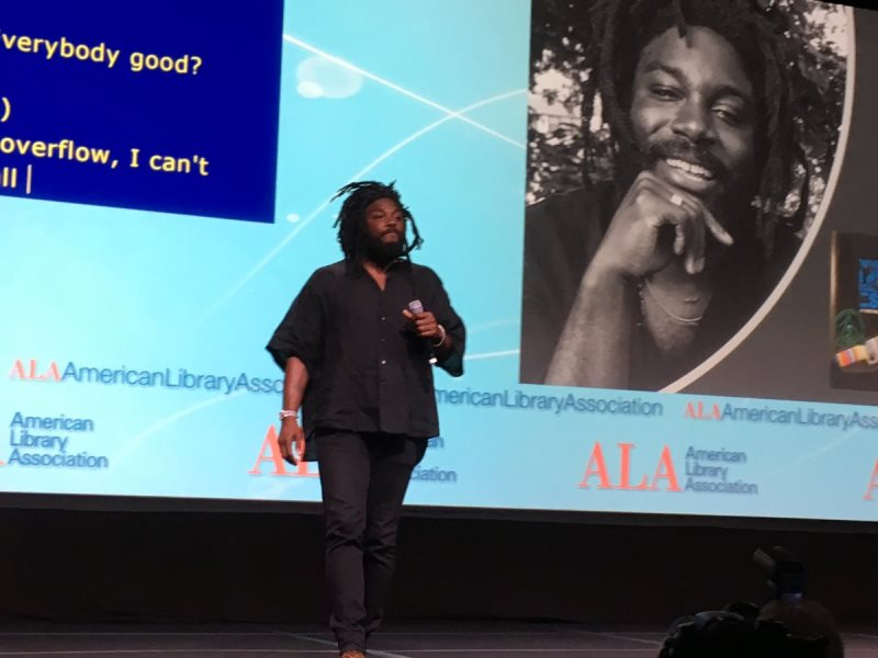 Jason Reynolds Challenges Librarians To Reimagine Their Role and More ALA Highlights