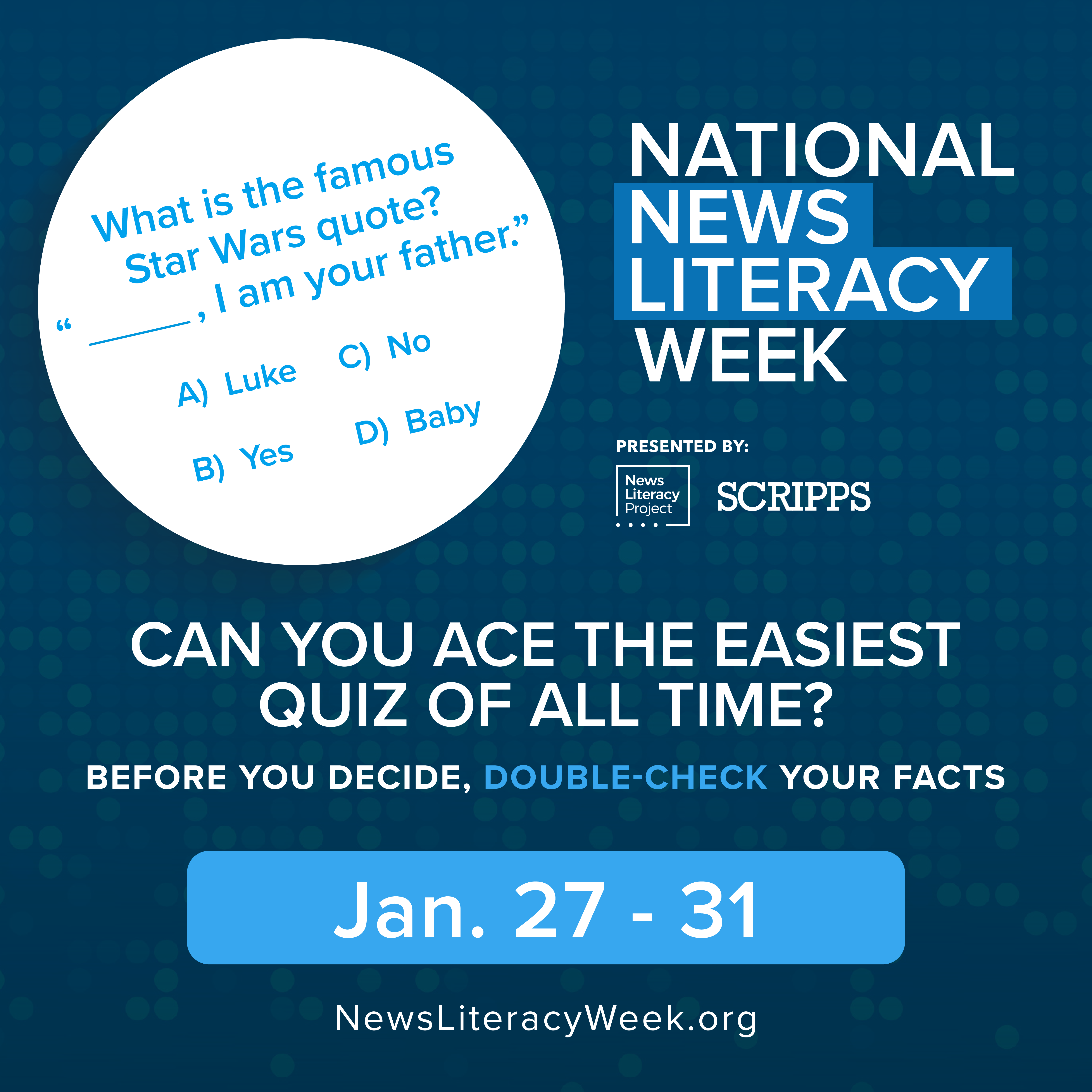 News Literacy Project and Scripps Launch National News Literacy Week