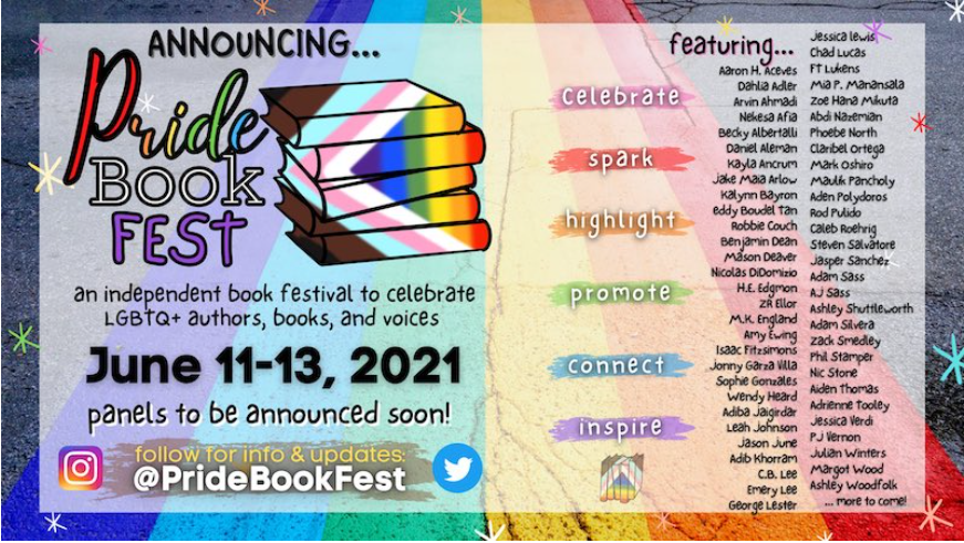 Inaugural Pride Book Fest Set for June