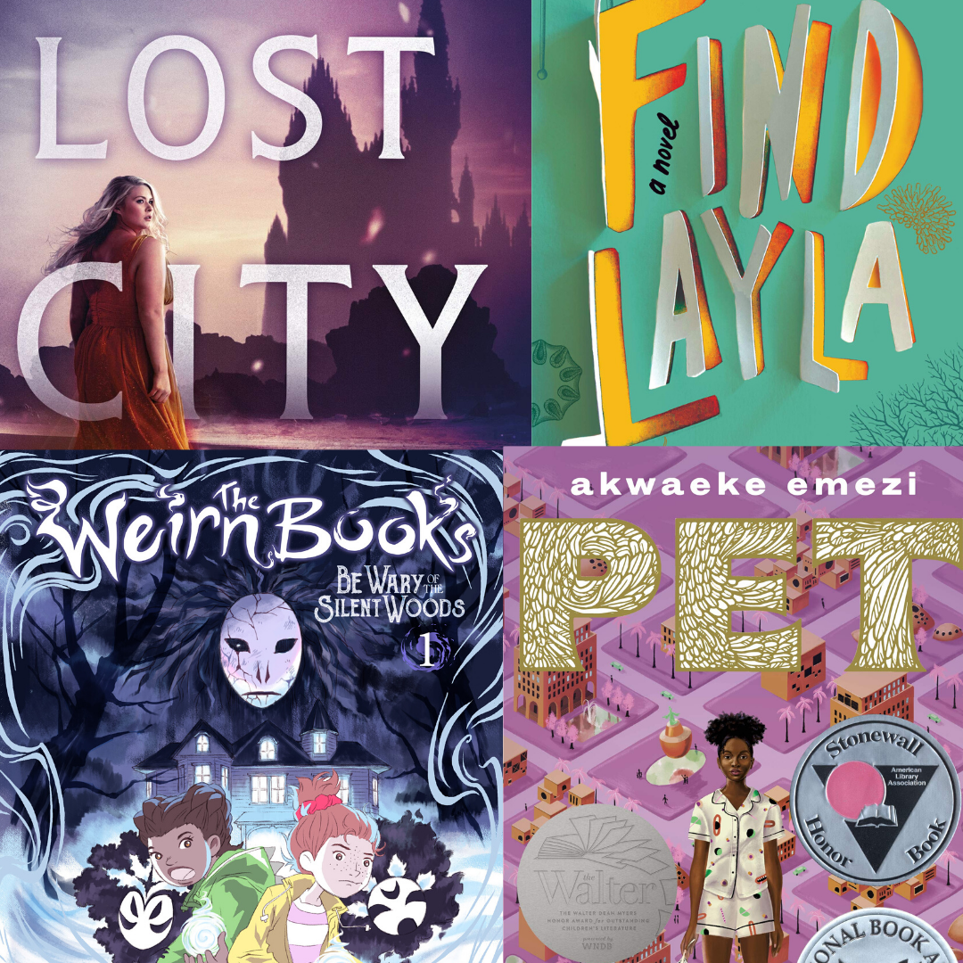 10 Great Reads for Upper Middle Schoolers | Summer Reading 2020