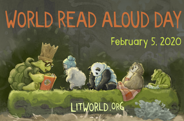 Schools, Libraries Celebrate World Read Aloud Day 2020
